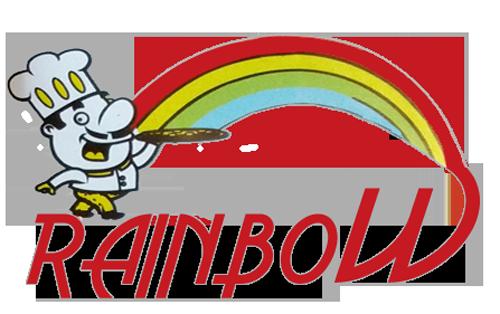 Rainbow Pizza Swadlincote Logo